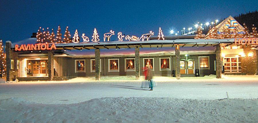 Levi Hotel Spa (Levitunturi), exterior night.jpg